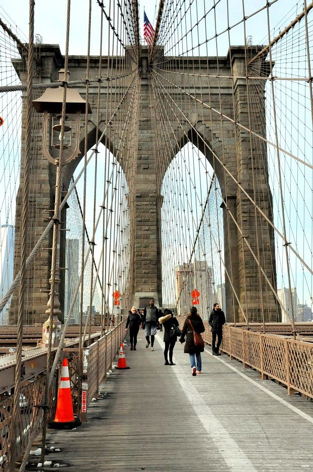 New-York (2)... Pont de Brooklyn Bridge