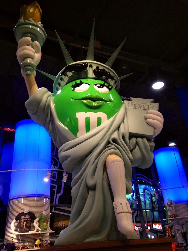 New-York (5)... M&M's Store sur Times Square
