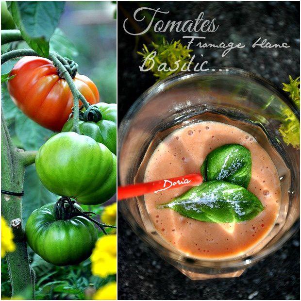 Smoothie à la tomate
