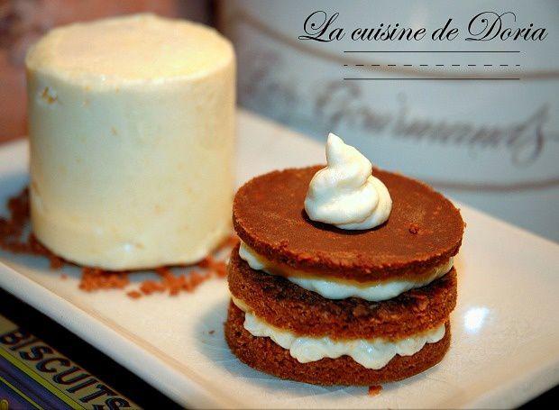 Duo de Millefeuille et sa glace à la crème Calisson