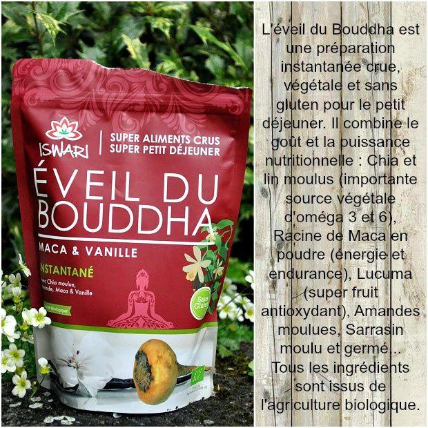 Petit déjeuner Eveil du Bouddha Maca & Vanille