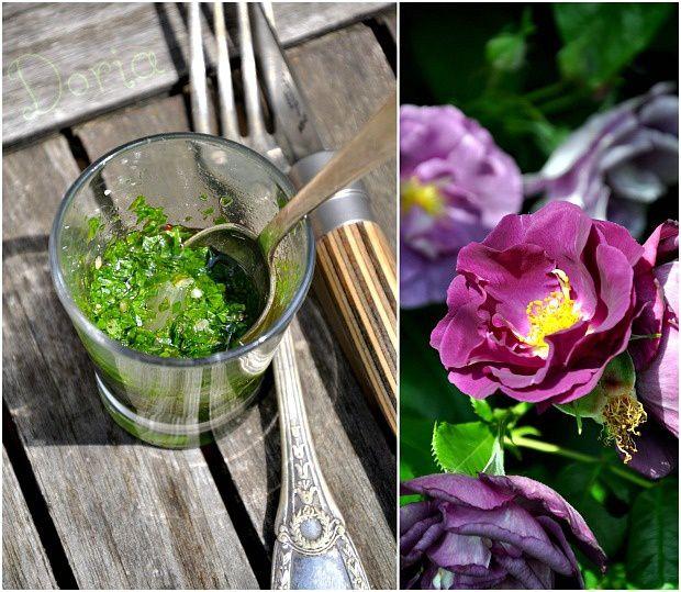 Lotte pochée et poêlée aux salicornes
