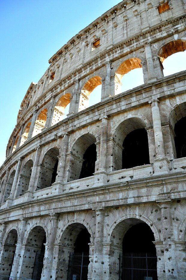 Quelques jours sur Rome (3)... Le Colisée, Monument de la Rome Antique