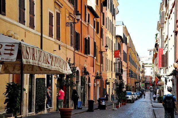Quelques jours sur Rome (6)... Au fil de mes pas...