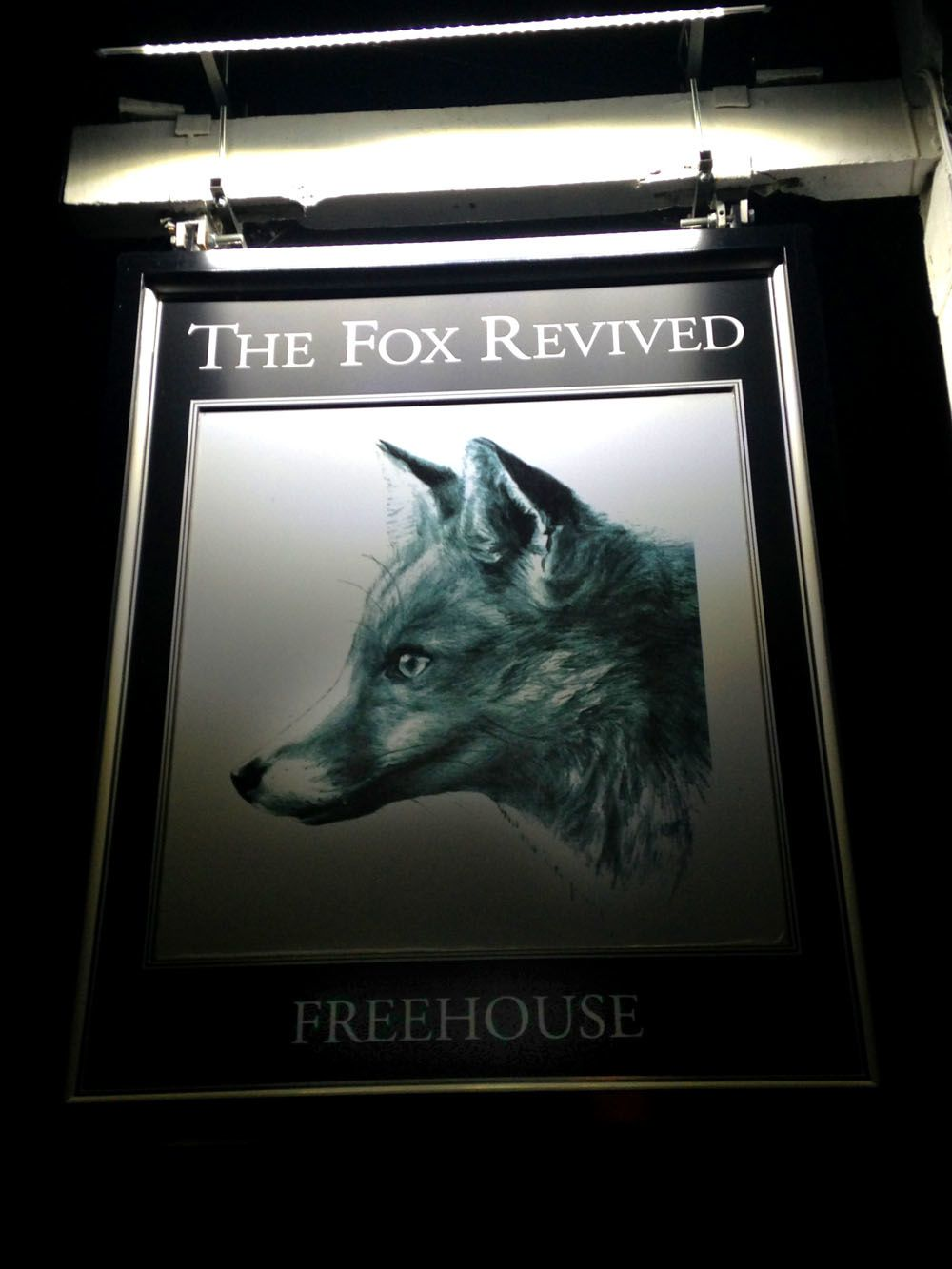 Week-end en Angleterre... The Fox Revived