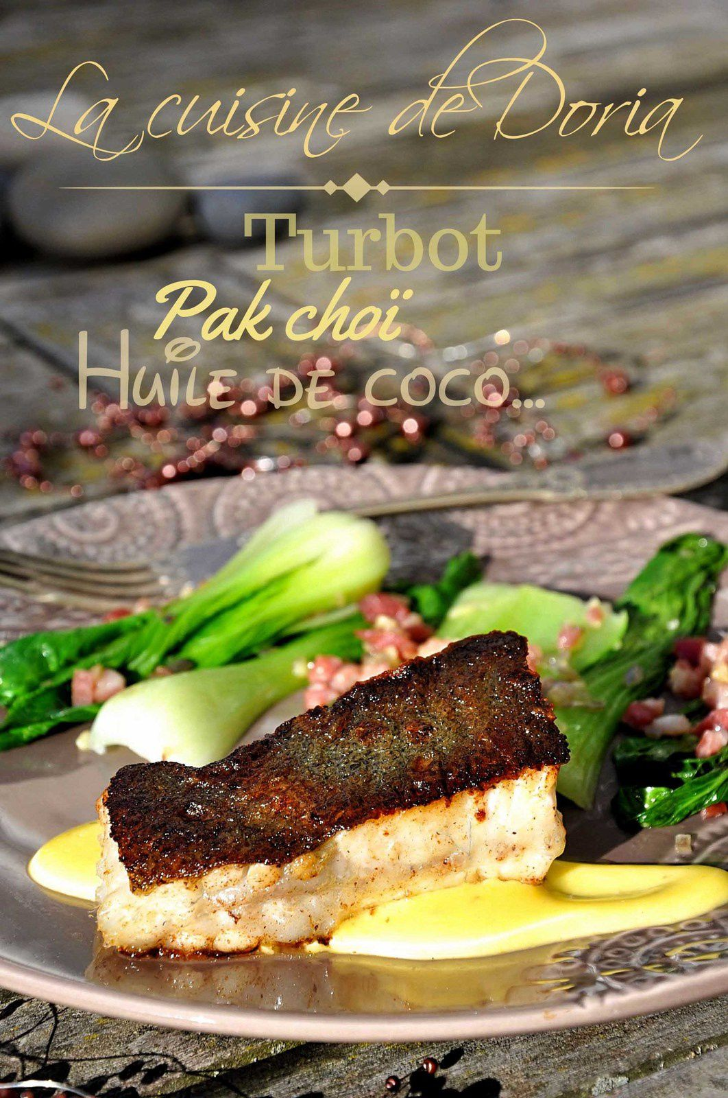 Turbot sauce hollandaise