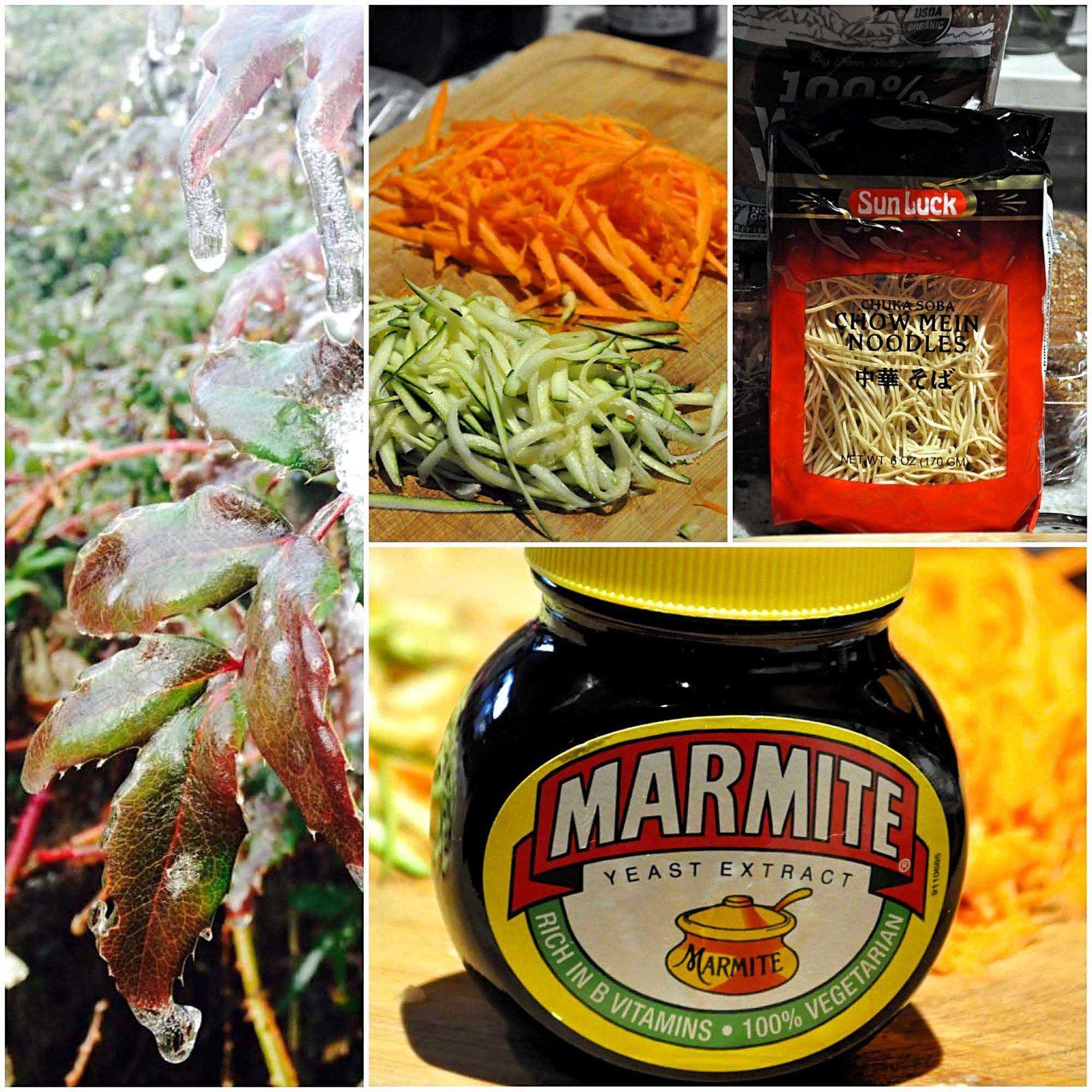 Nage de julienne de légumes et ravioles au poulet