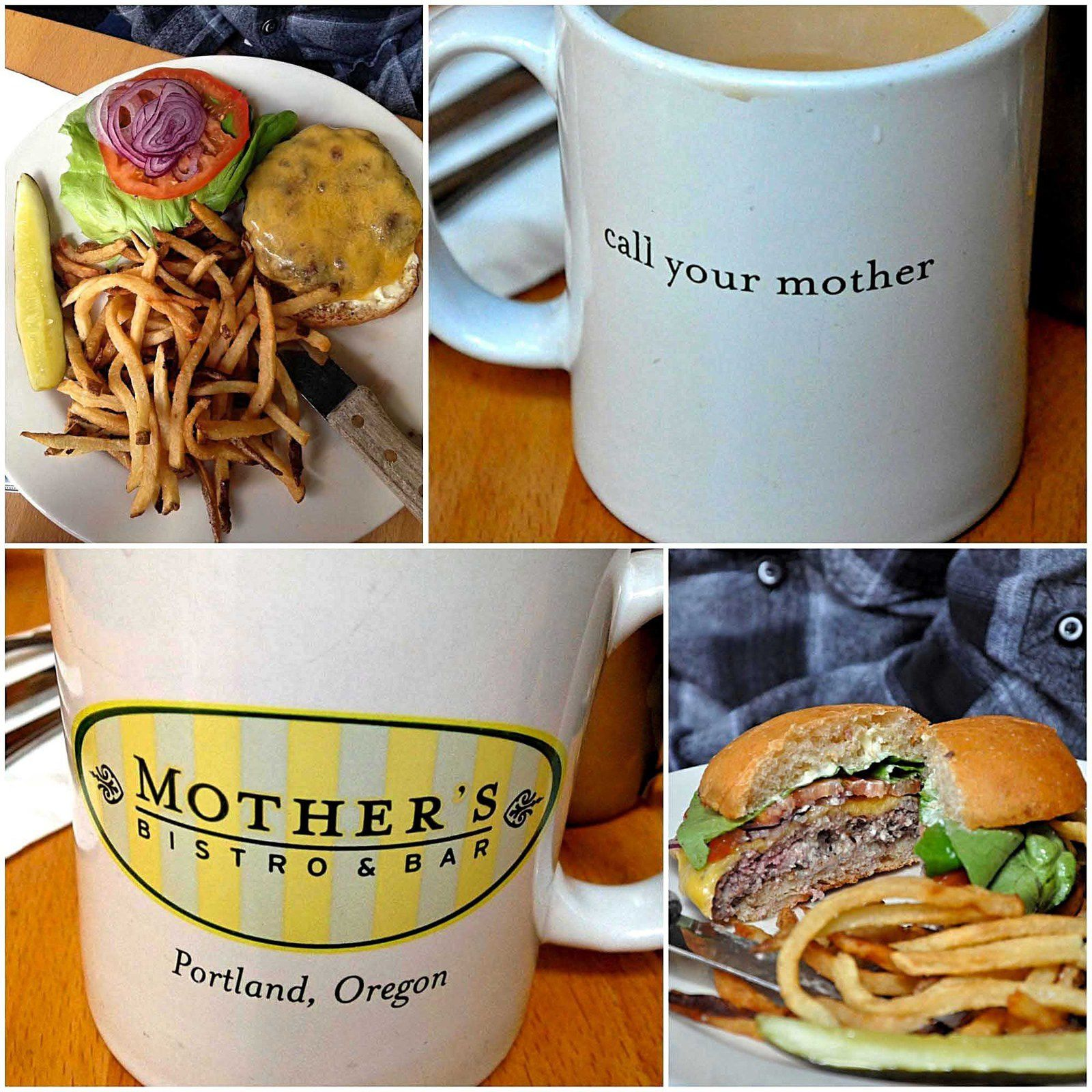 Voyage dans l'Oregon... Portland (2) Restaurant Mother's