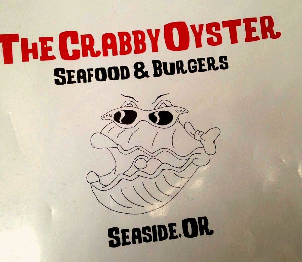 "Voyage dans l'Oregon... Seaside ""The Crabbly Oyster"""