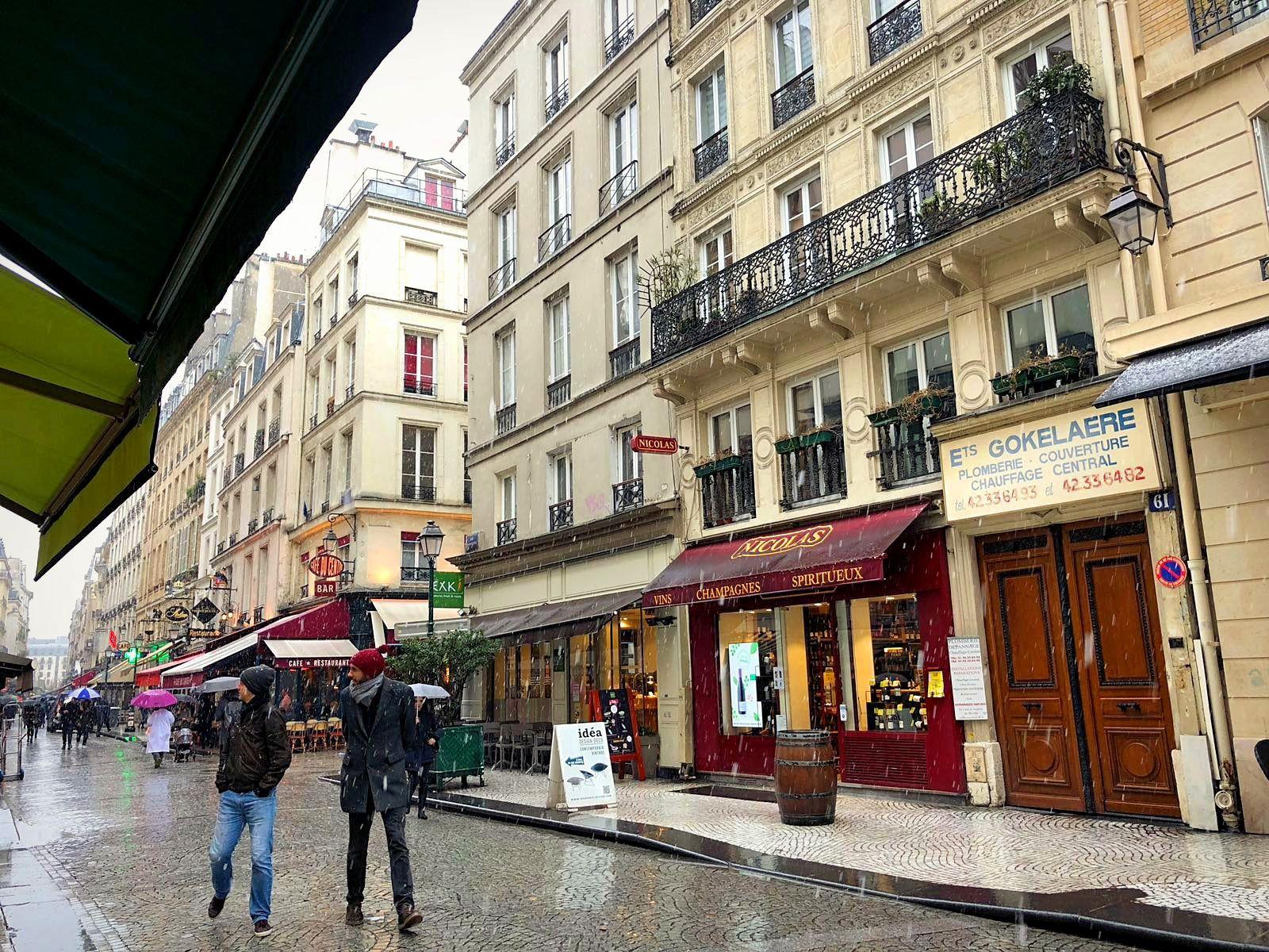 Balade parisienne... (3) Quartier Montorgueil et Passage du Grand Cerf