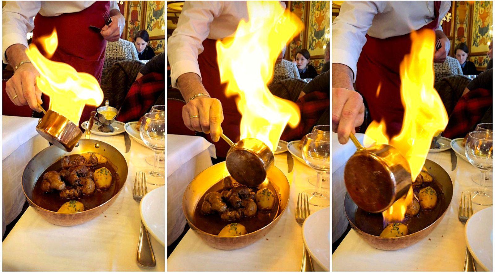 """Balade parisienne... (2) Restaurant """"Au Pied de Cochon"""""""