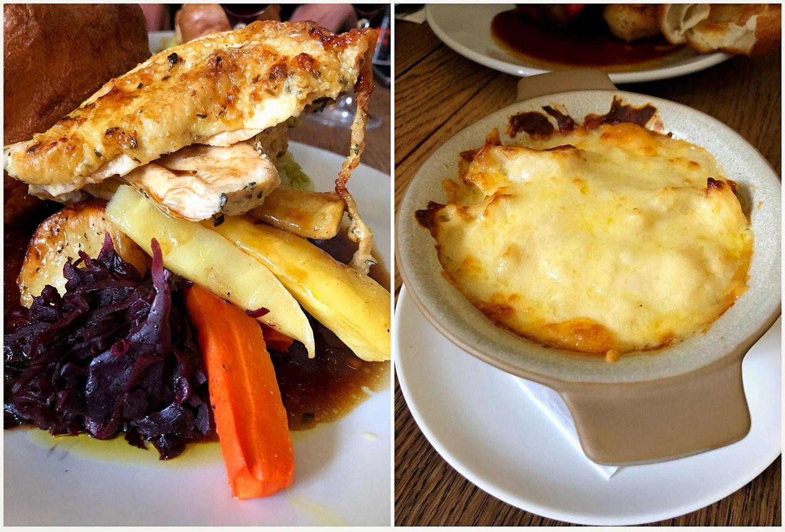 "Les voyages de Caroline... Leith Hill et restaurant ""The Abinger Hatch"" dans le Surrey"
