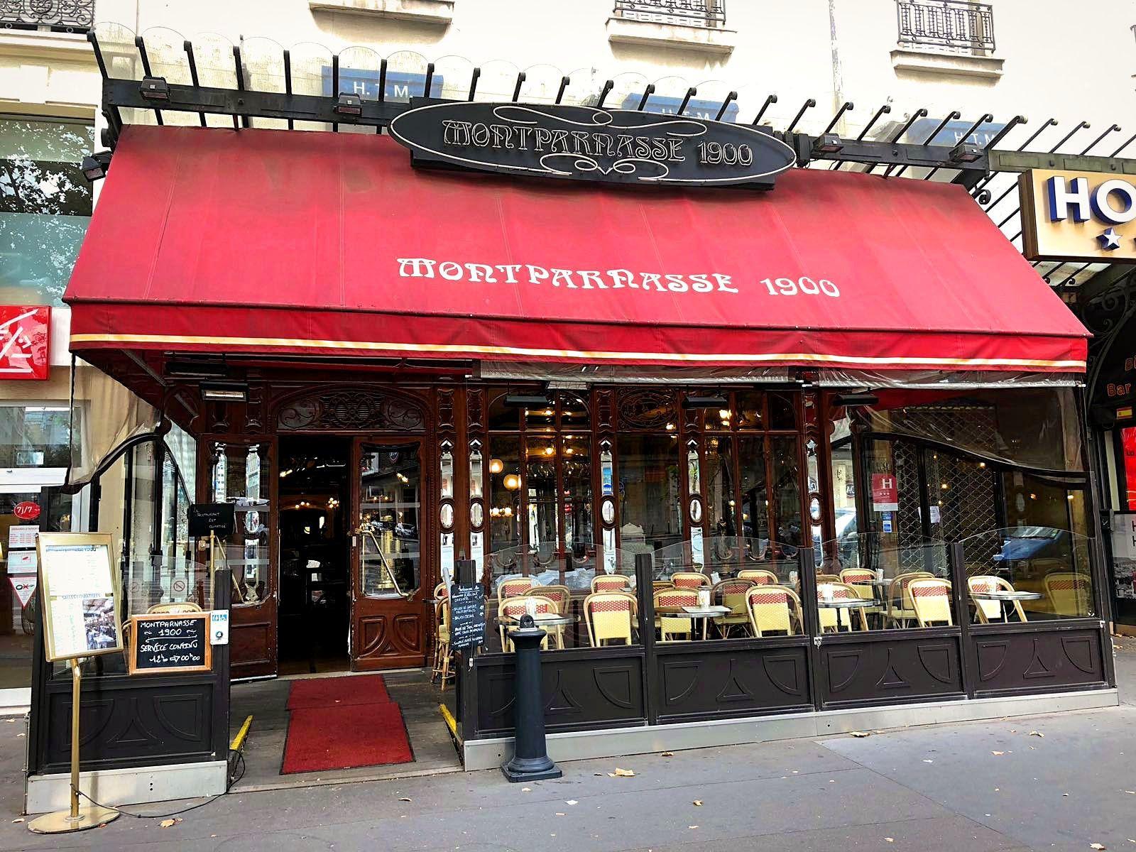 Promenade parisienne... 6ème arrondissement, Restaurant Montparnasse 1900