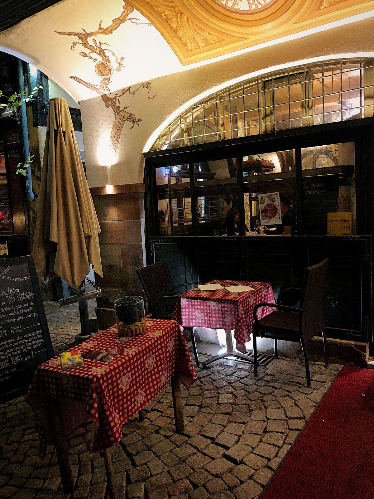"Strasbourg... Restaurant ""Le Tir-Bouchon"""