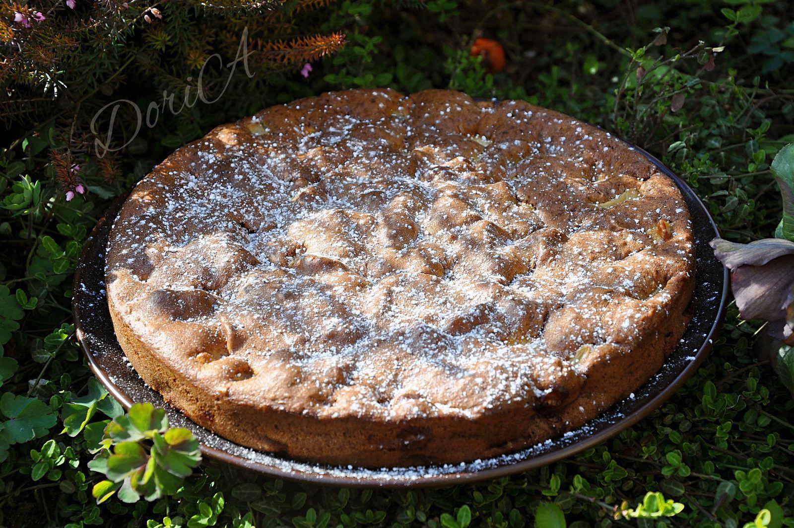 Gâteau moelleux aux pommes et poires