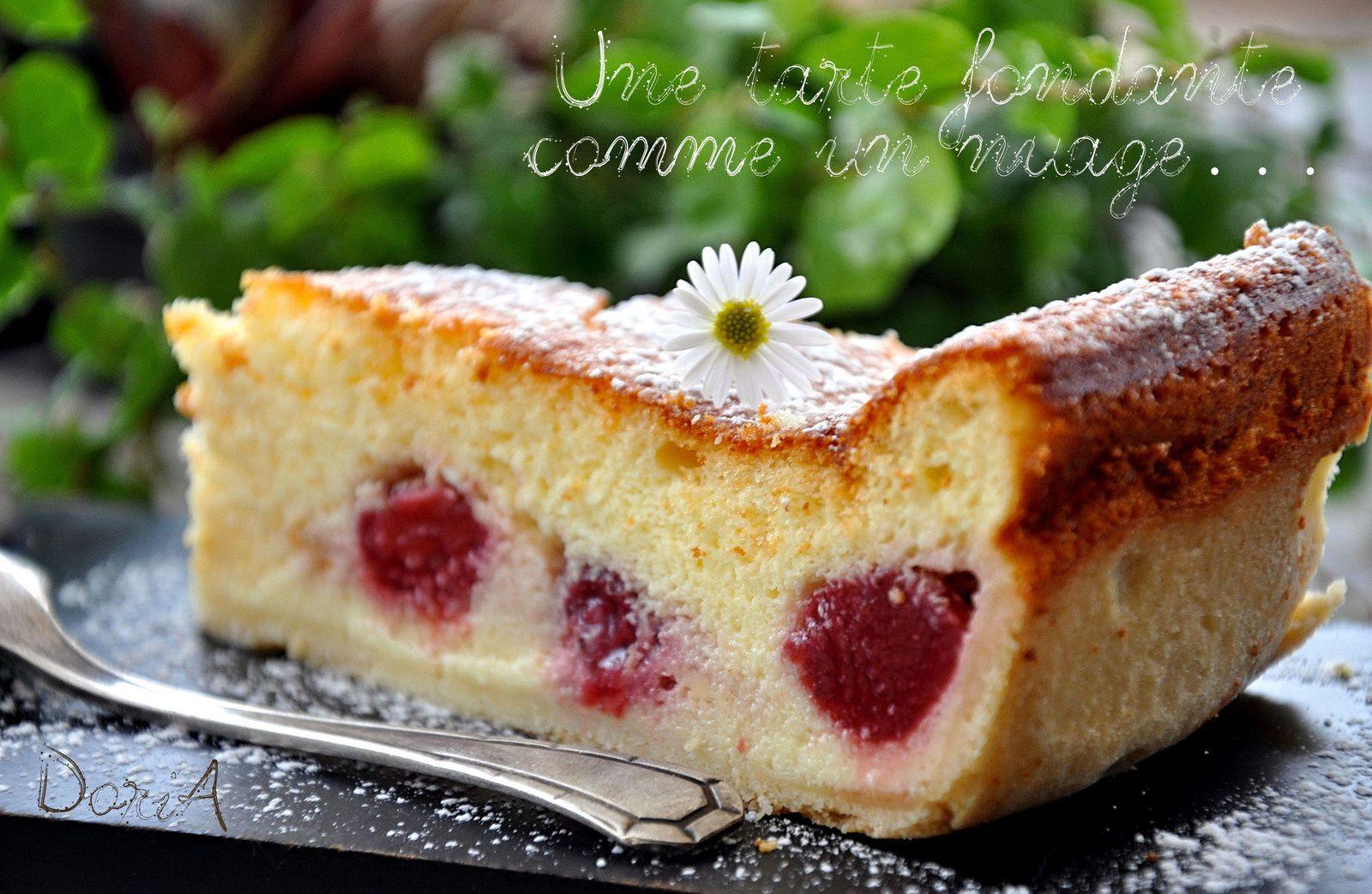 Tarte au fromage blanc, ricotta et fraises