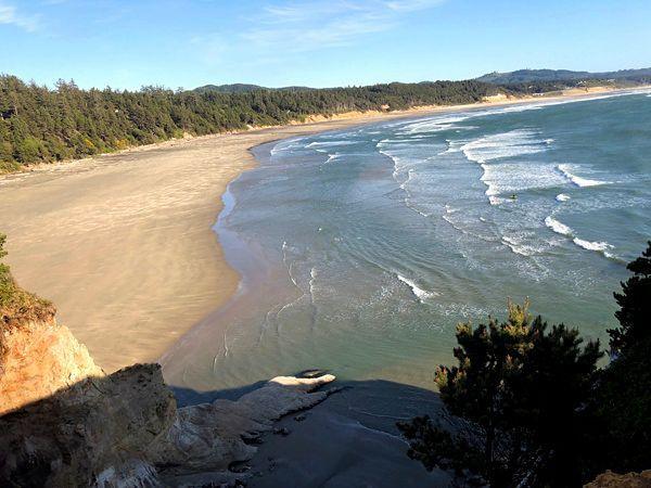 Road Trip sur la Côte Pacifique dans l'Oregon aux USA... (3) Tillamook, Devils Punchbowl State Park