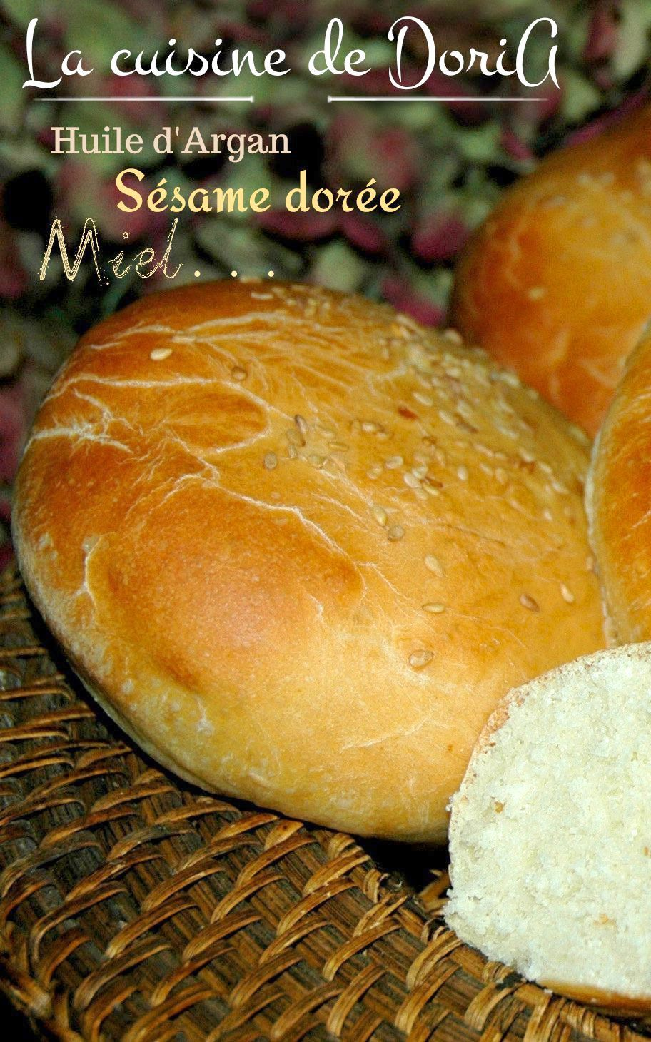 Petits pains au lait et huile d'Argan