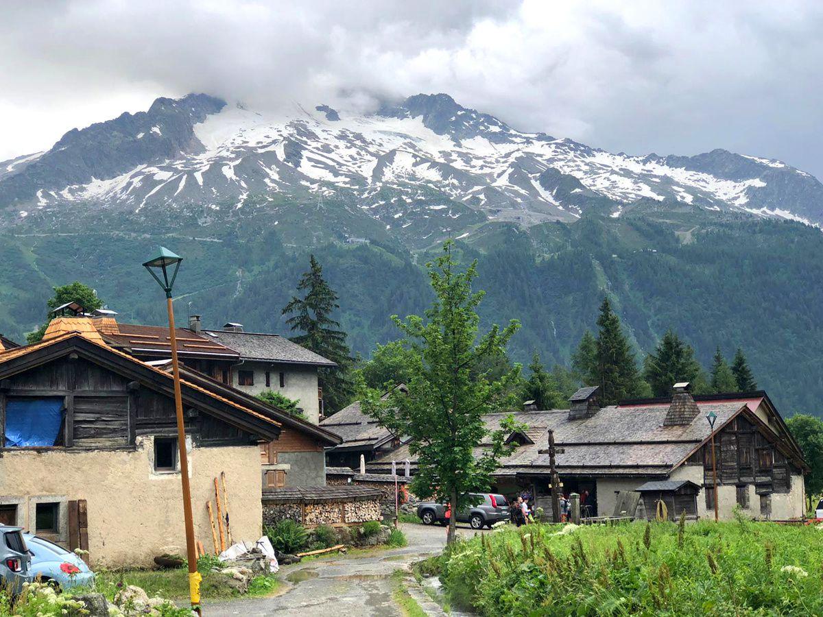 Chamonix (4)... Le Chemin de Diligence en direction de Chamonix