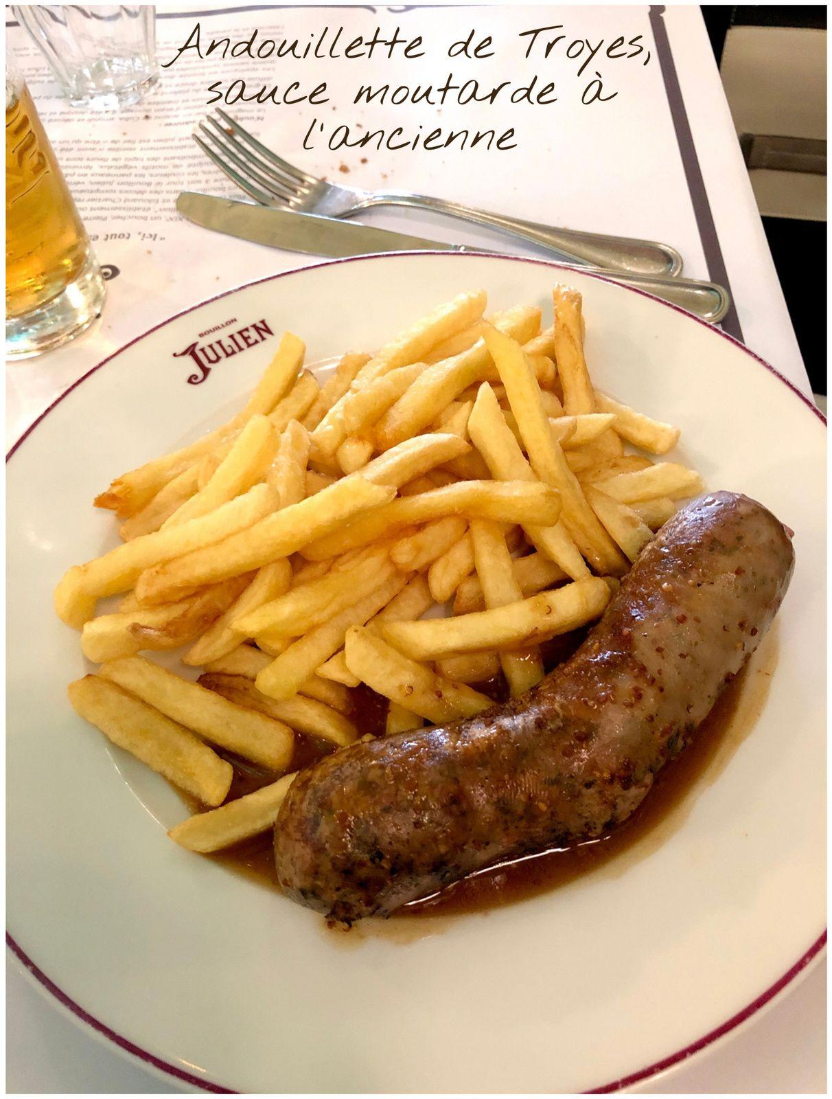 Le Bouillon Julien sur Paris