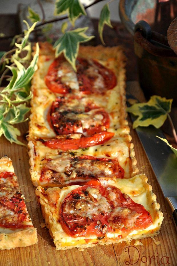 Tarte à la tomate et fromage