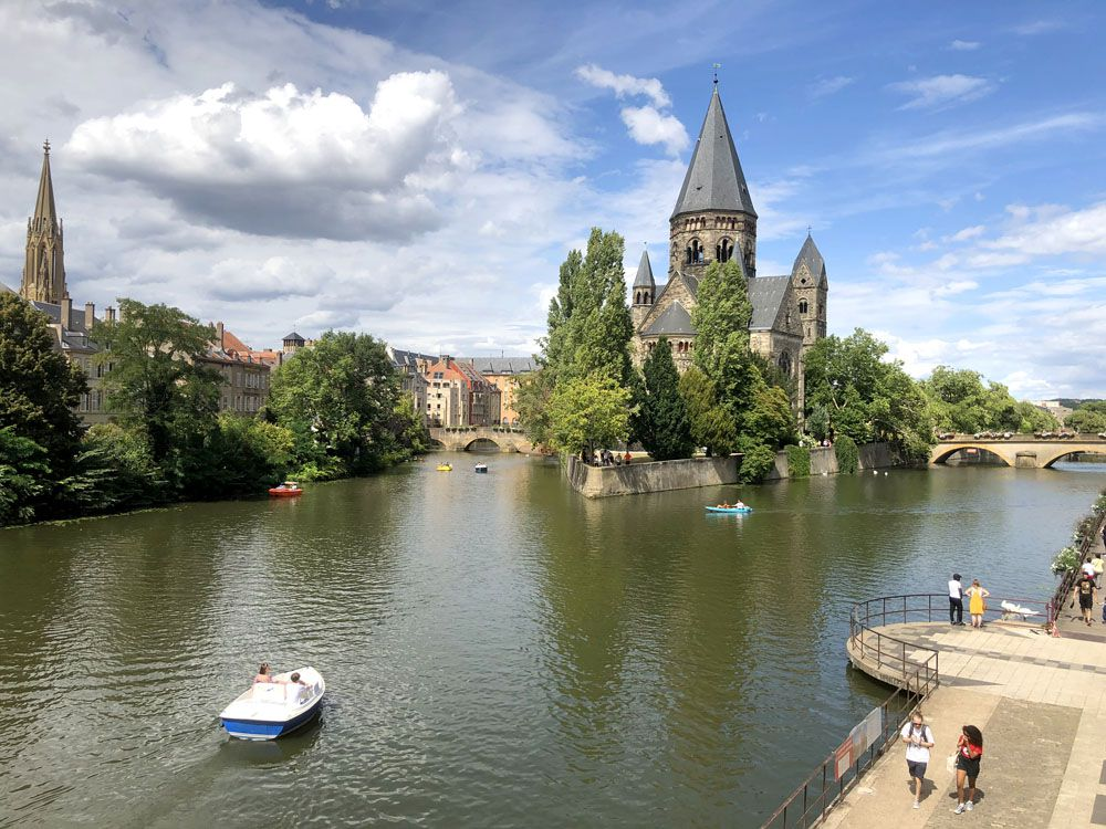 Week-End sur Metz
