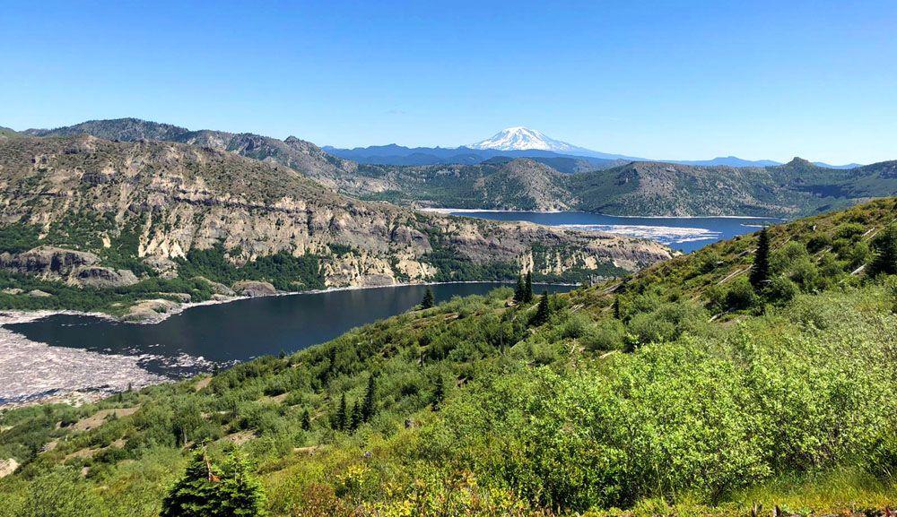 Les Voyages d'Alexie... Mount Saint Helens