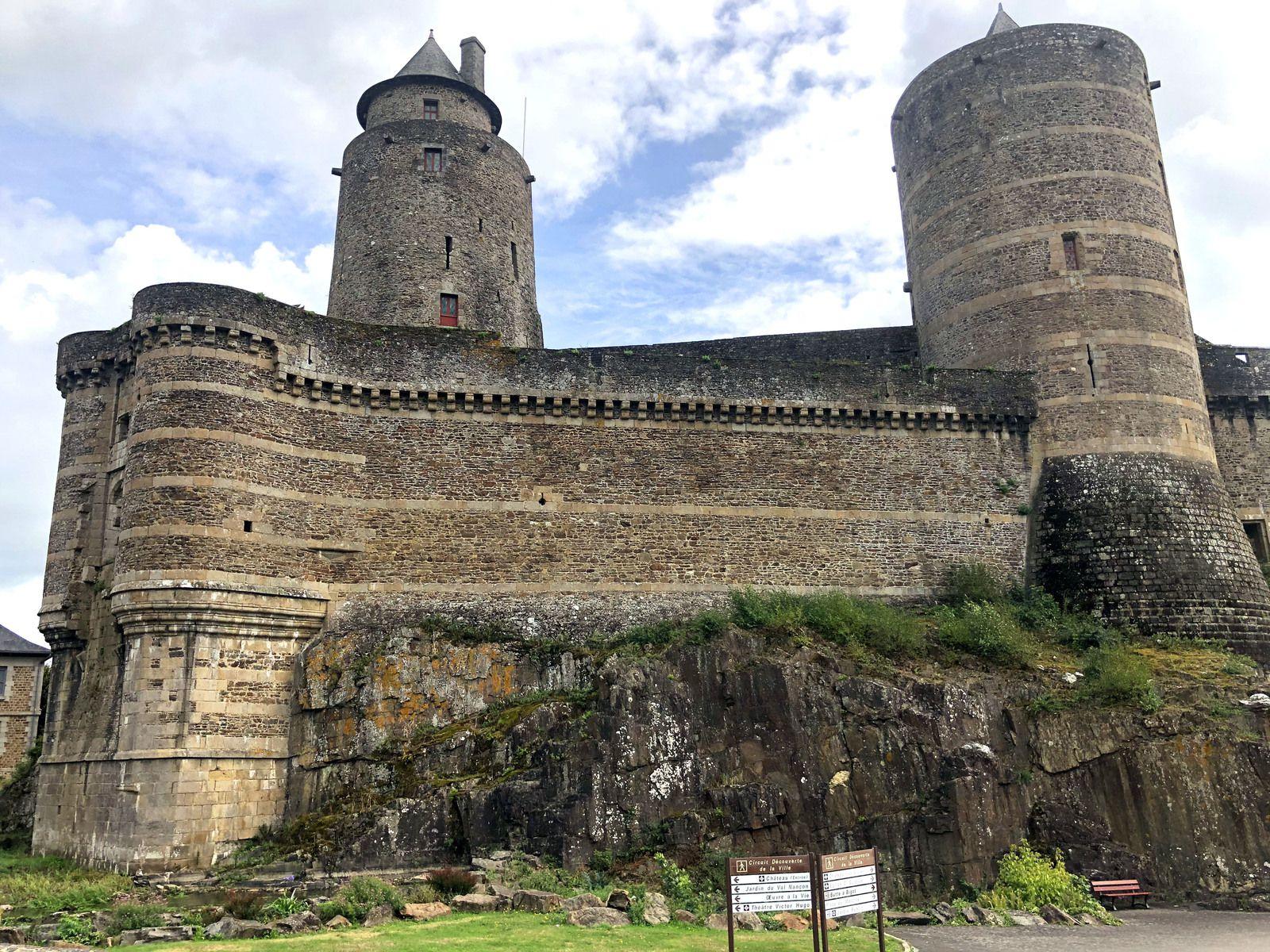 Road Trip, du Perche jusqu'en Bretagne... Fougères