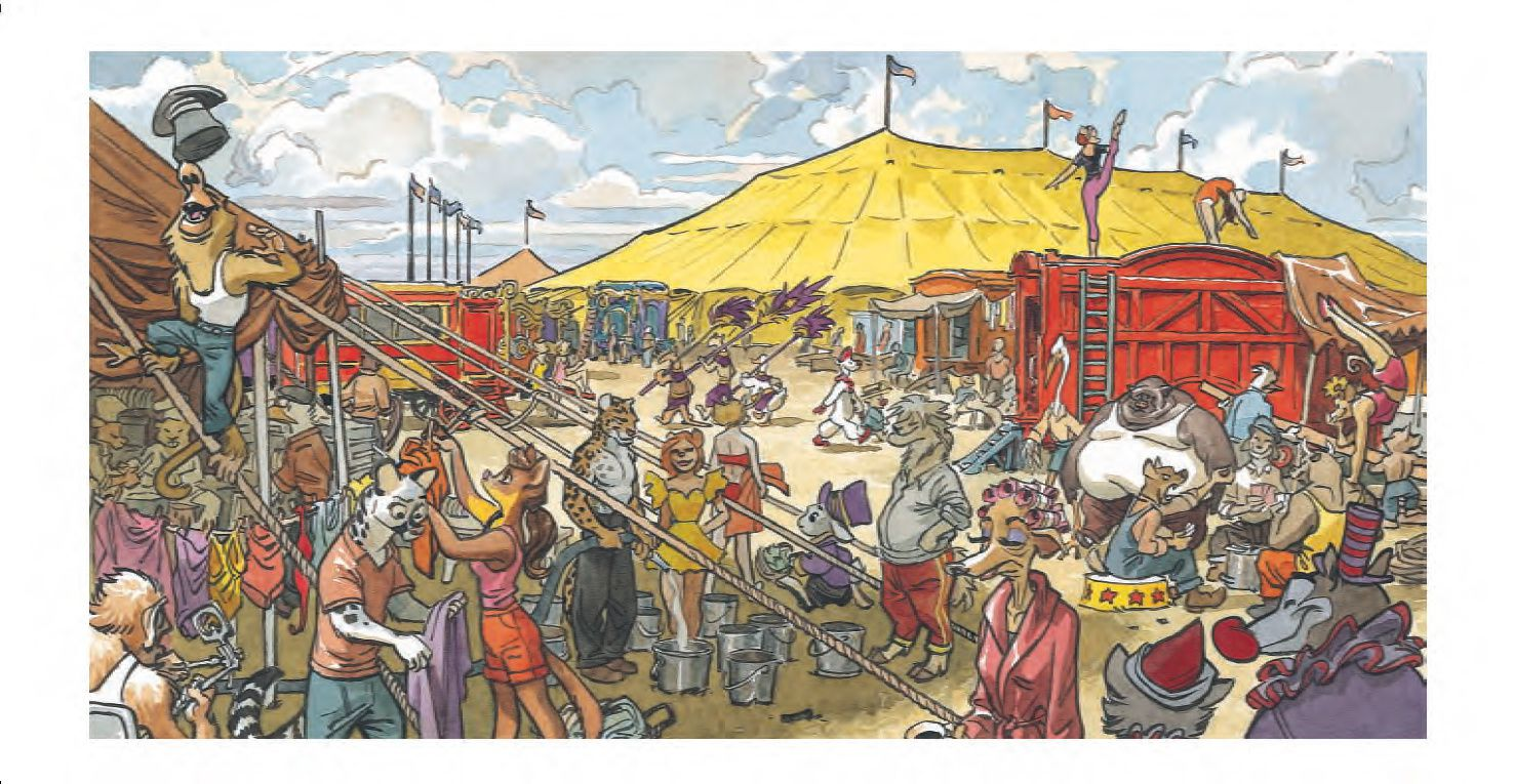 Blacksad, Sunflower Circus (Granit Associes 2014)