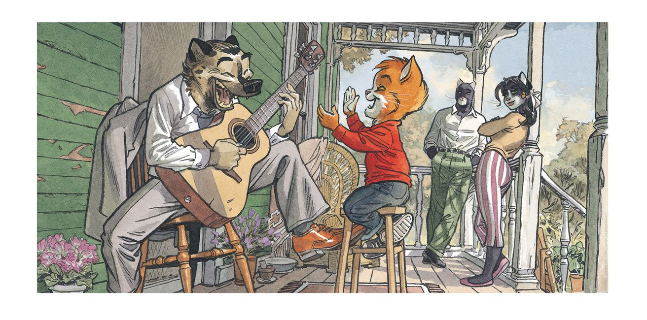 Blacksad, John's Family (Granit Associes 2014)