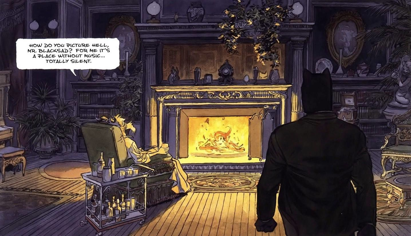Blacksad Somewhere between the shadows !