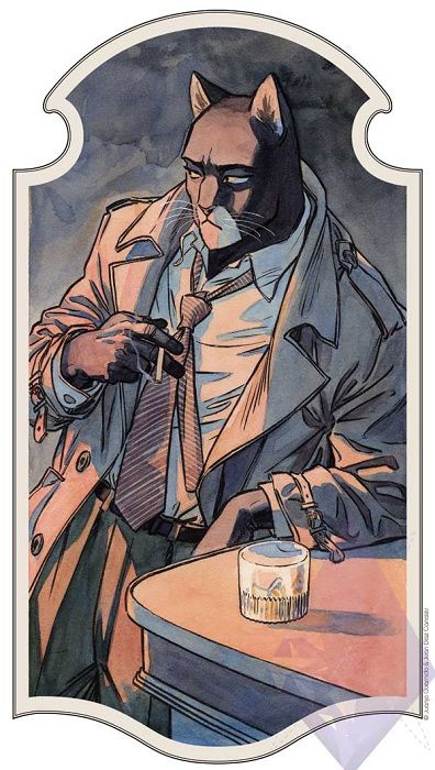 Order Édition limitée Blacksad by Juanjo Guarnido @http://www.essentialsequential.com