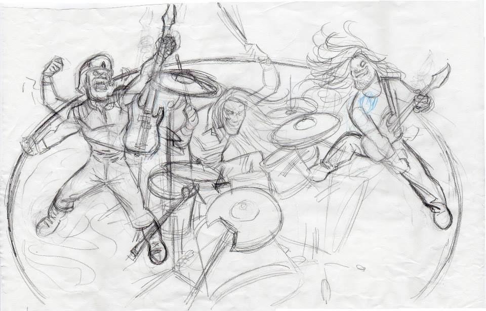 Ilustration Freak Kitchen destinée à l'image qui sera offerte aux donateurs de notre Kickstarter.