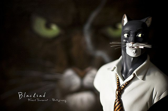 Blacksad BD @ Copyright: Franck Tourneret