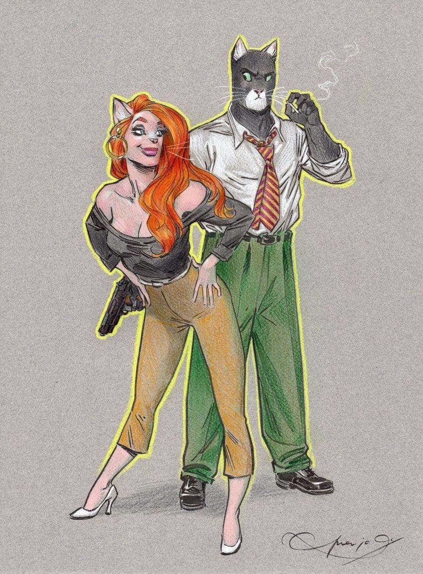 ☆☆☆ BLACKSAD & FRIENDS News ☆☆☆