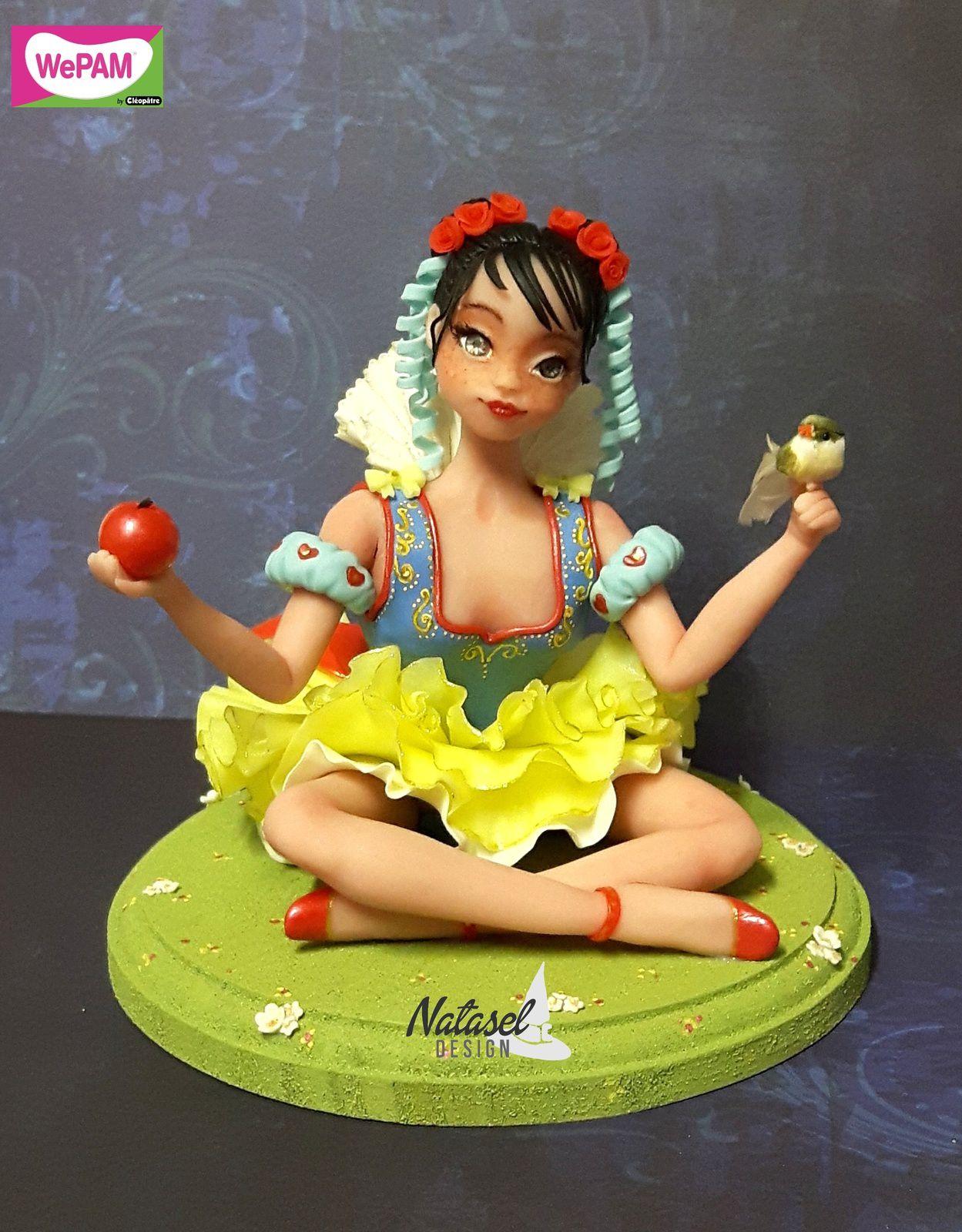 Blanche-Neige, croquera, croquera pas la pomme ?