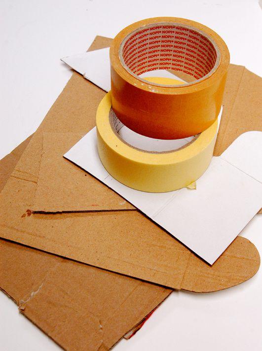 Das benötigte Material für die Herstellung der Formenbaukästen.