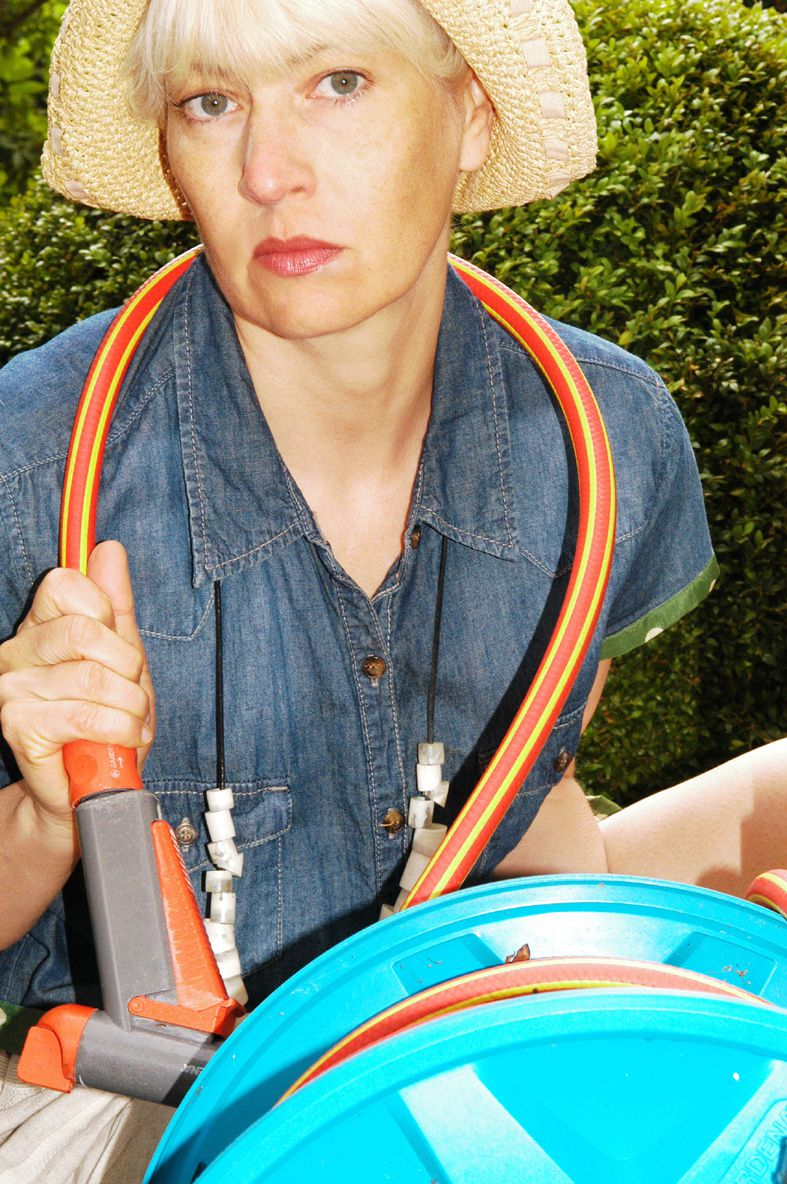 Upcycling-Fashion: Jeanskleid