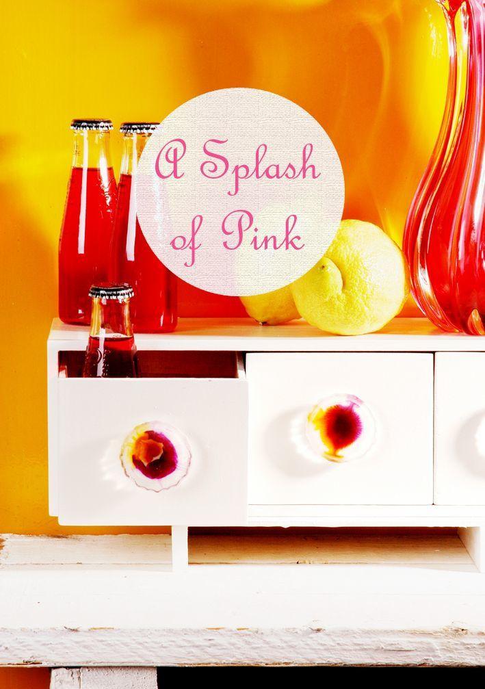 Kunstharz-Möbelknöpfe in Sommerfarben