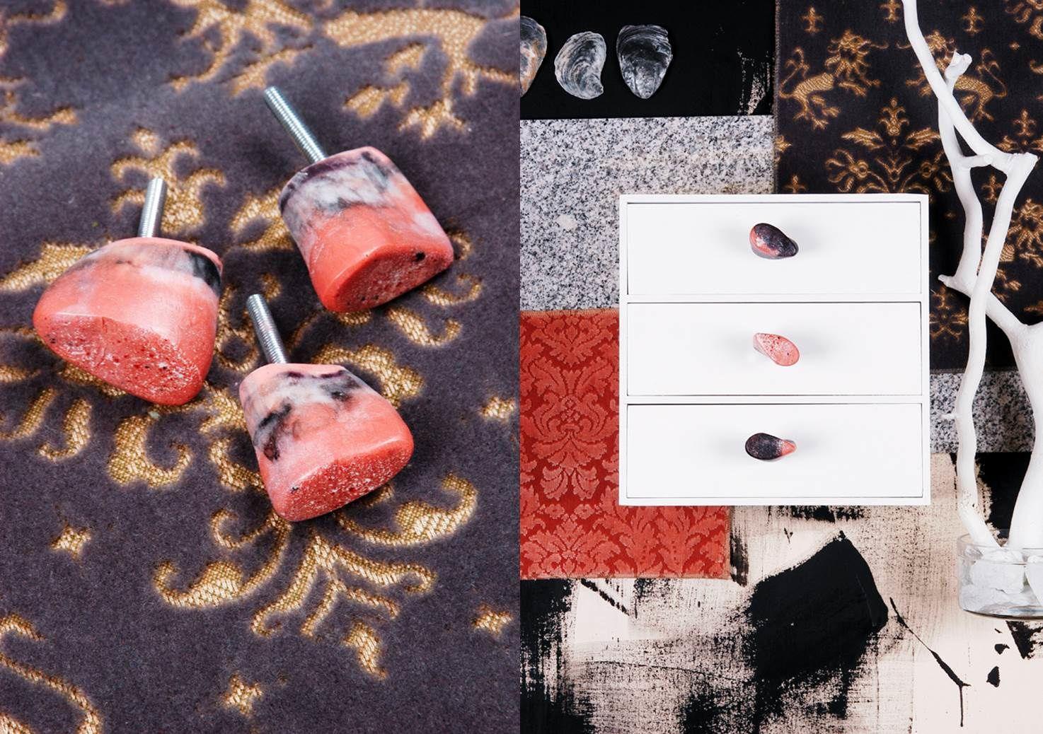 Kunstharz-Möbelknöpfe in Herbstfarben