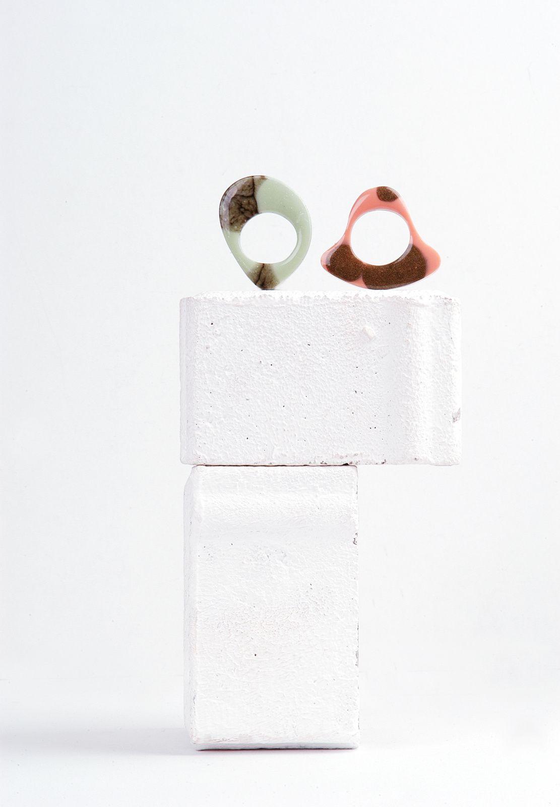 Big size resin rings