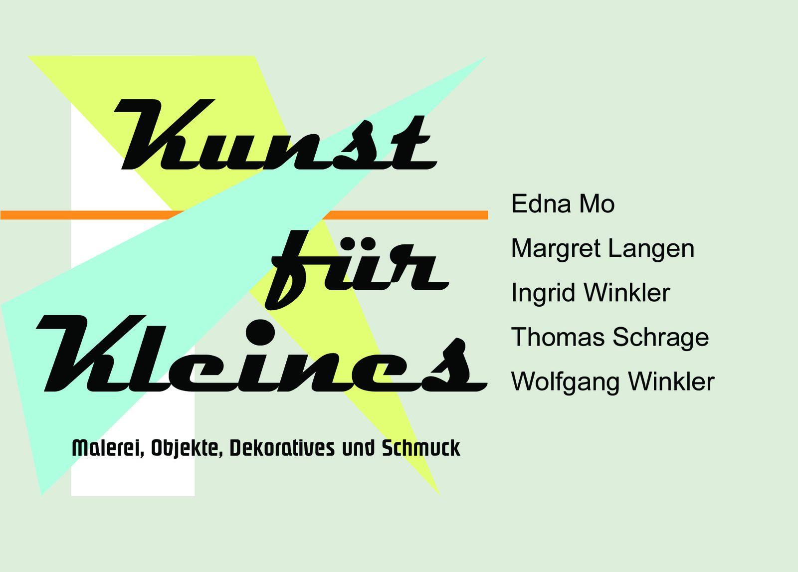 """Edna Mo bereitet vor: """"Kunst für Kleines"""""""