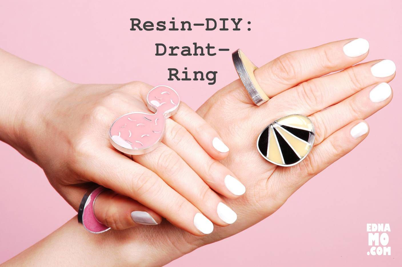 Resin-DIY: Draht-Ring