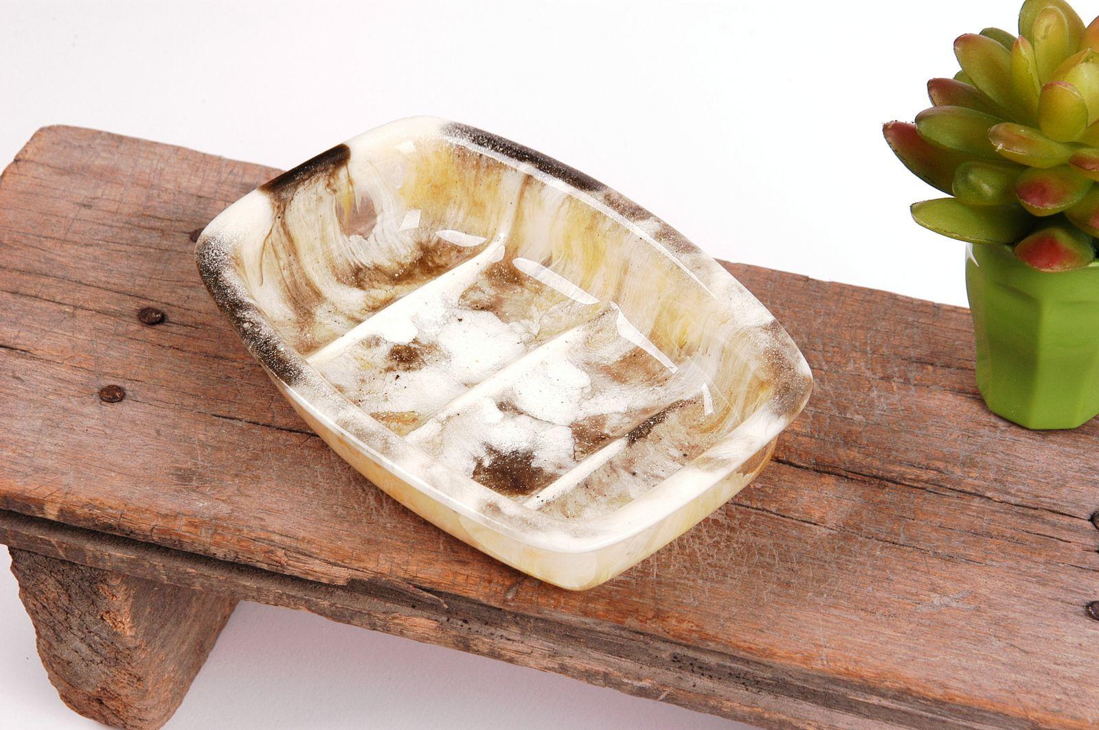 Marmorierte Schalen aufgefrischt
