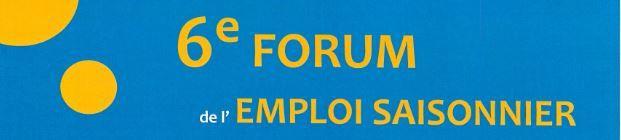 6éme Forum de l'Emploi Saisonnier DEVOLUY BUECH