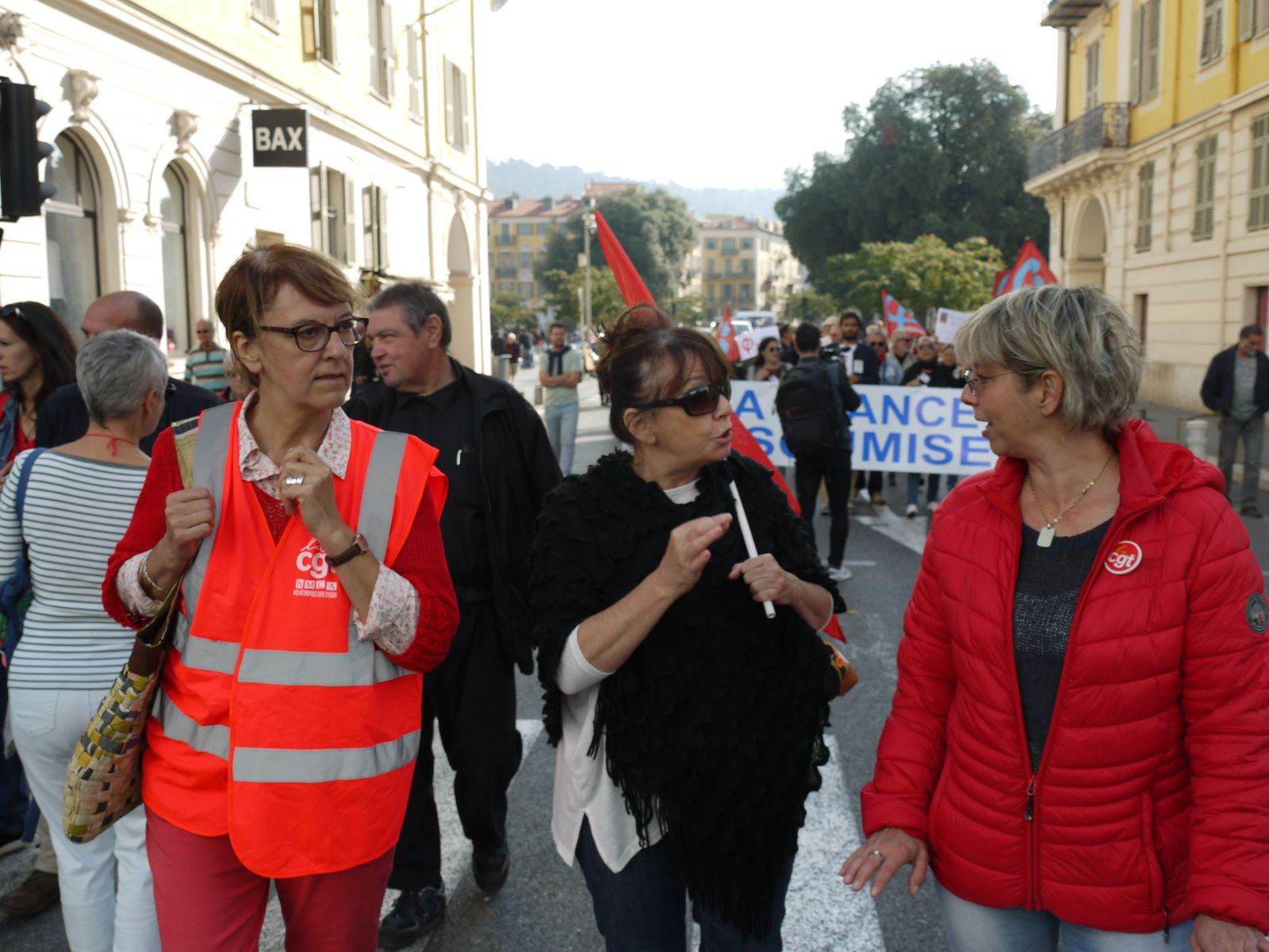 La manif du 19 octobre à Nice en 30 photos