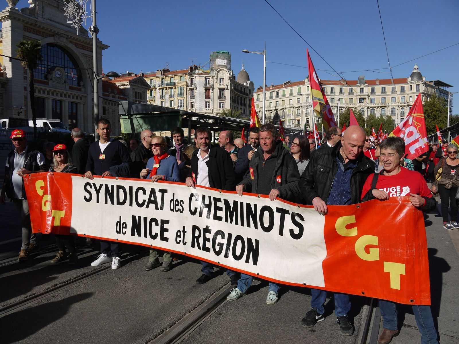 La manifestation du 16 novembre à Nice (Photos)