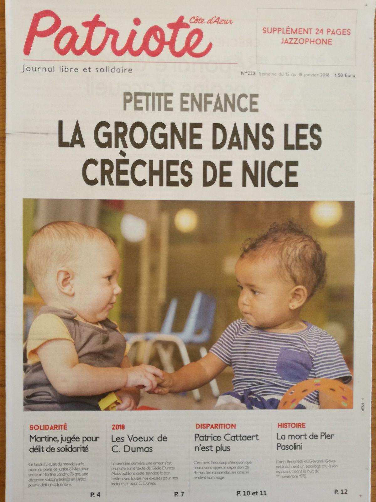 Alerte sur les crèches de Nice