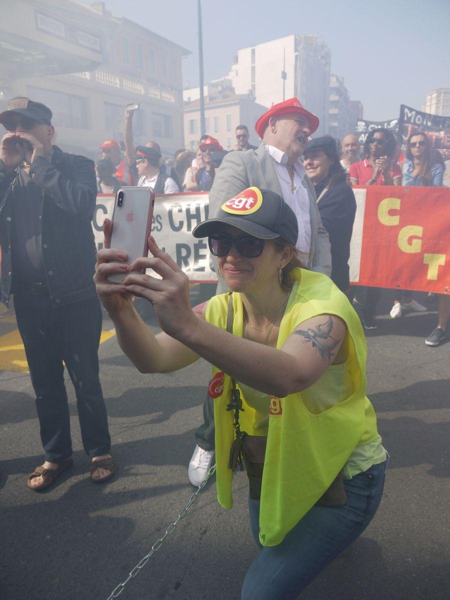 Nice: la manif du 19 avril en photos
