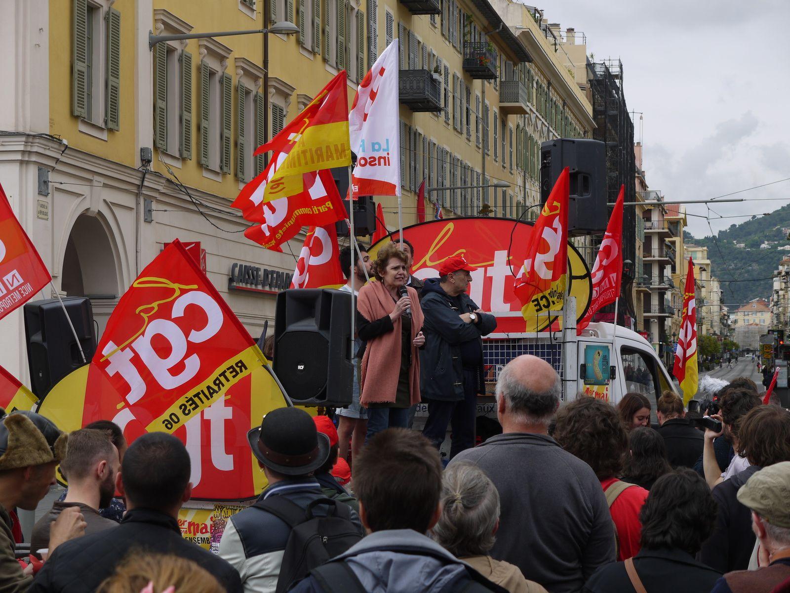 Manifestation du 1er mai à Nice (photos)